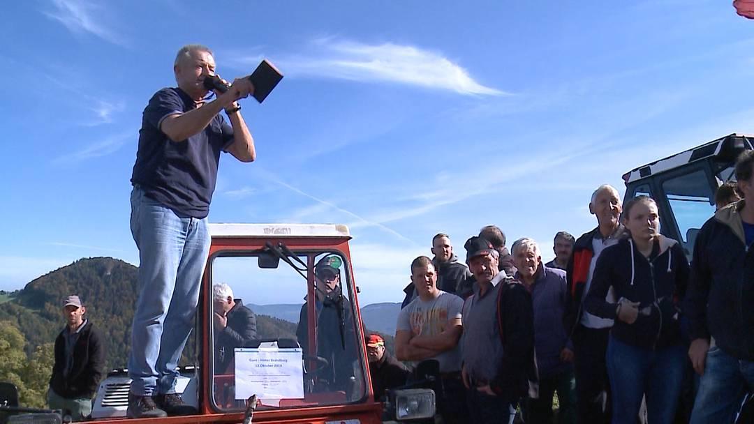 Traum geplatzt: Versteigerung auf dem Berghof Hinter Brandberg