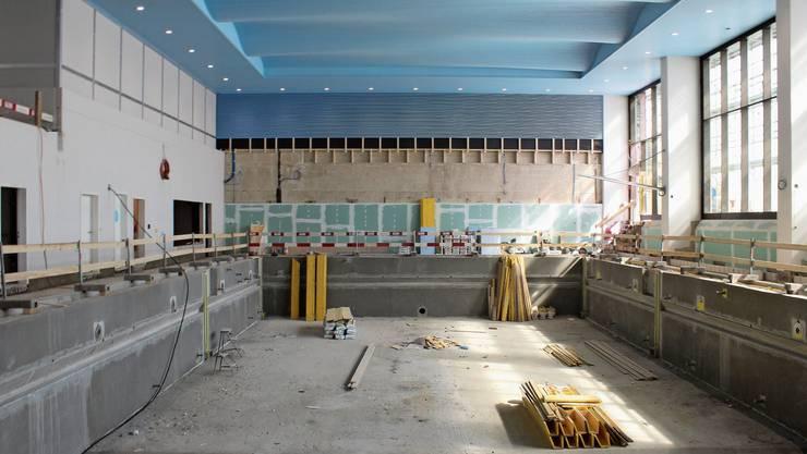 Wegen unerwarteter Arbeiten konnte das Spreitenbacher Hallenbad nicht wie geplant im Sommer öffnen.