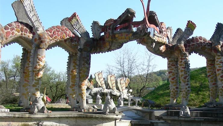 Im Oktober muss der Skulpturenpark geschlossen werden, wie es weitergeht, bleibt unklar. abu