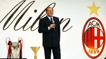 Alles ist Business, nur eines nicht: Die AC Milan ist Liebe», hatte Berlusconi einmal über seinen Fussballverein gesagt. (Archiv)