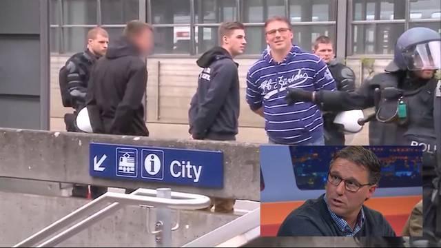 Am Bahnhof von der Polizei abgefangen: Fussball-Fan Ciri Pante erzählt, was er erlebt hat, und sagt, weshalb er überhaupt im FCZ-Pulli nach Aarau gereist ist.