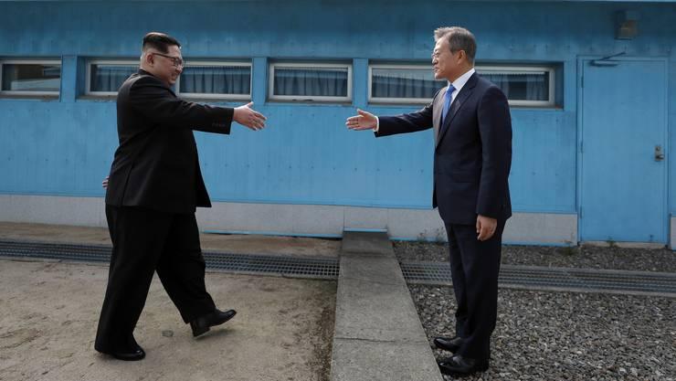 Als erster nordkoreanischer Führer seit dem Ende des Korea-Krieges vor 65 Jahren ...