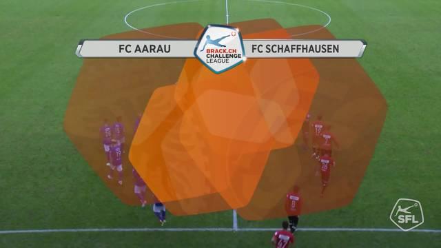 Challenge League, 2017/18, 4. Runde, FC Aarau - FC Schaffhausen, Alle Highlights