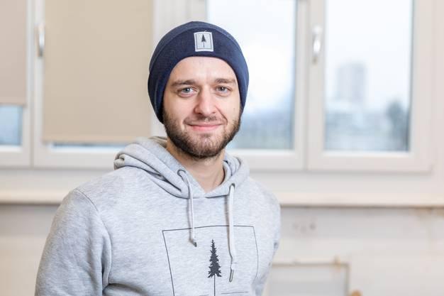 Nicholas Hänny brachte als Wirtschaftsstudent das Business-Wissen ins Unternehmen.
