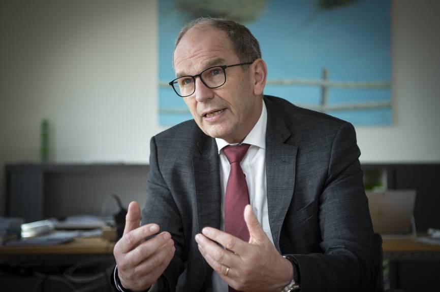 Der St.Galler Regierungsrat Bruno Damann.