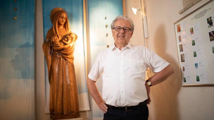 Max Hermann studierte erst spät. Er ist überzeugt, dass sich die Kirche reformieren muss.