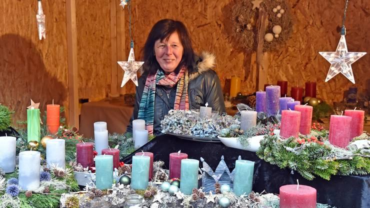 Wegen des schlechten Wetters hatte der Weihnachtsmarkt weniger Besucher als in anderen Jahren. Die die da waren, waren aber vollends zufrieden.