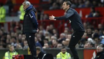 Lehrling besiegt Lehrmeister: Frank Lampard (r.) schlägt mit Derby County seinen Ex-Trainer José Mourinho.