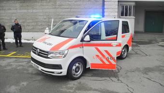 Neu im Wagenpark der Stadtpolizei: Der VW-Multivan für viele Zwecke.