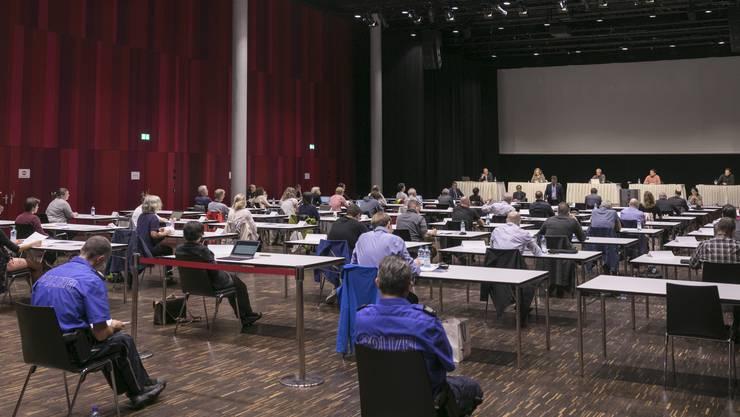 Der Einwohnerrat Brugg tagte am 19. Juni im Campussaal.