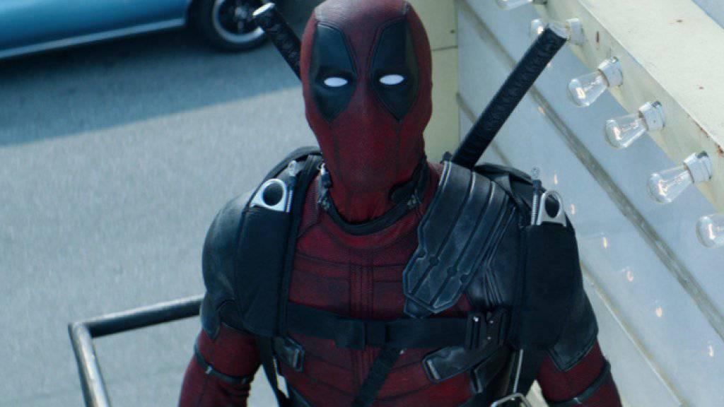 «Deadpool 2» erobert Platz 1