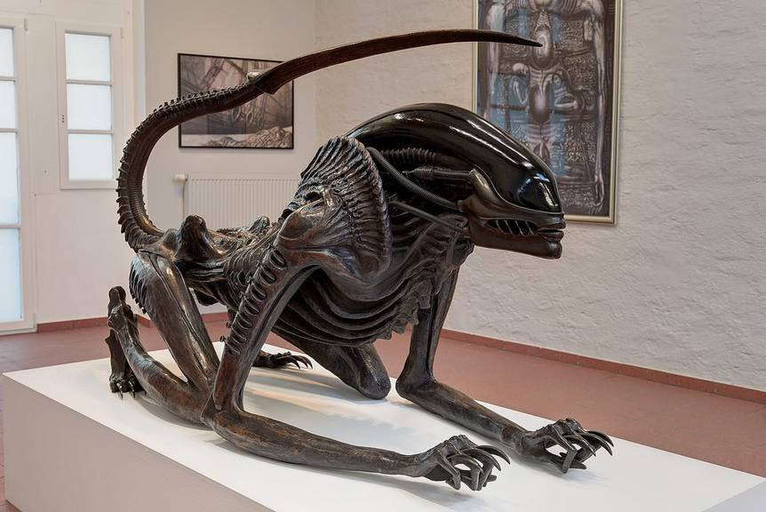 """Eine Figur aus """"Alien"""", Quelle: Keystone"""