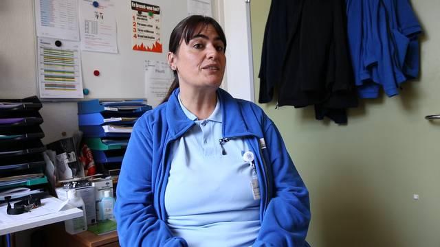 Pflegefachfrau Enza Mazzurco über das Schönste an ihrer Arbeit und die Herausforderungen in der Zukunft für ihren Beruf.