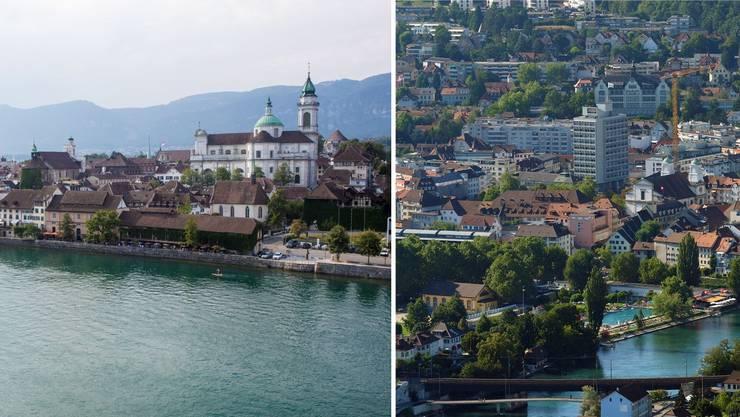 Solothurn liegt im Ranking hinter Olten.