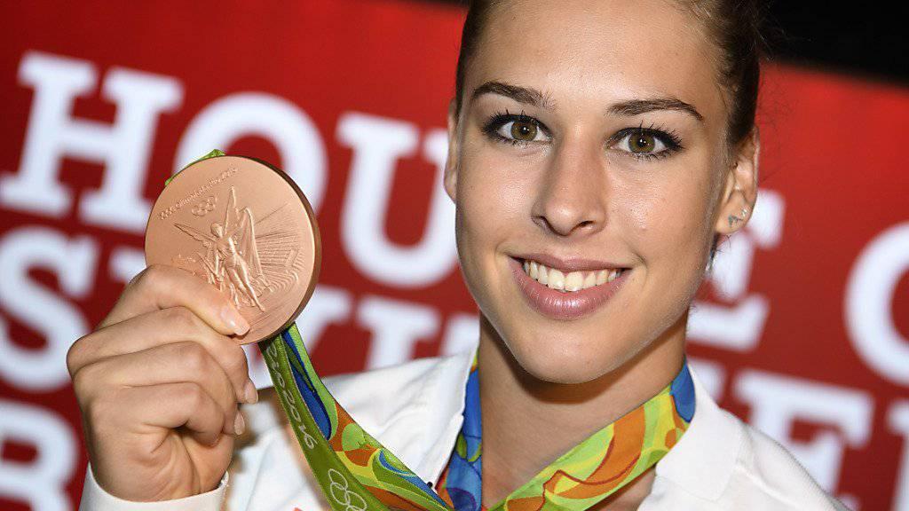 Giulia Steingruber fliegt am Samstag in die Heimat zurück