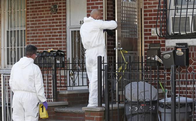 Eine Mutter und ihre vier Kinder wurden im New Yorker Stadtteil Brooklyn erstochen aufgefunden.
