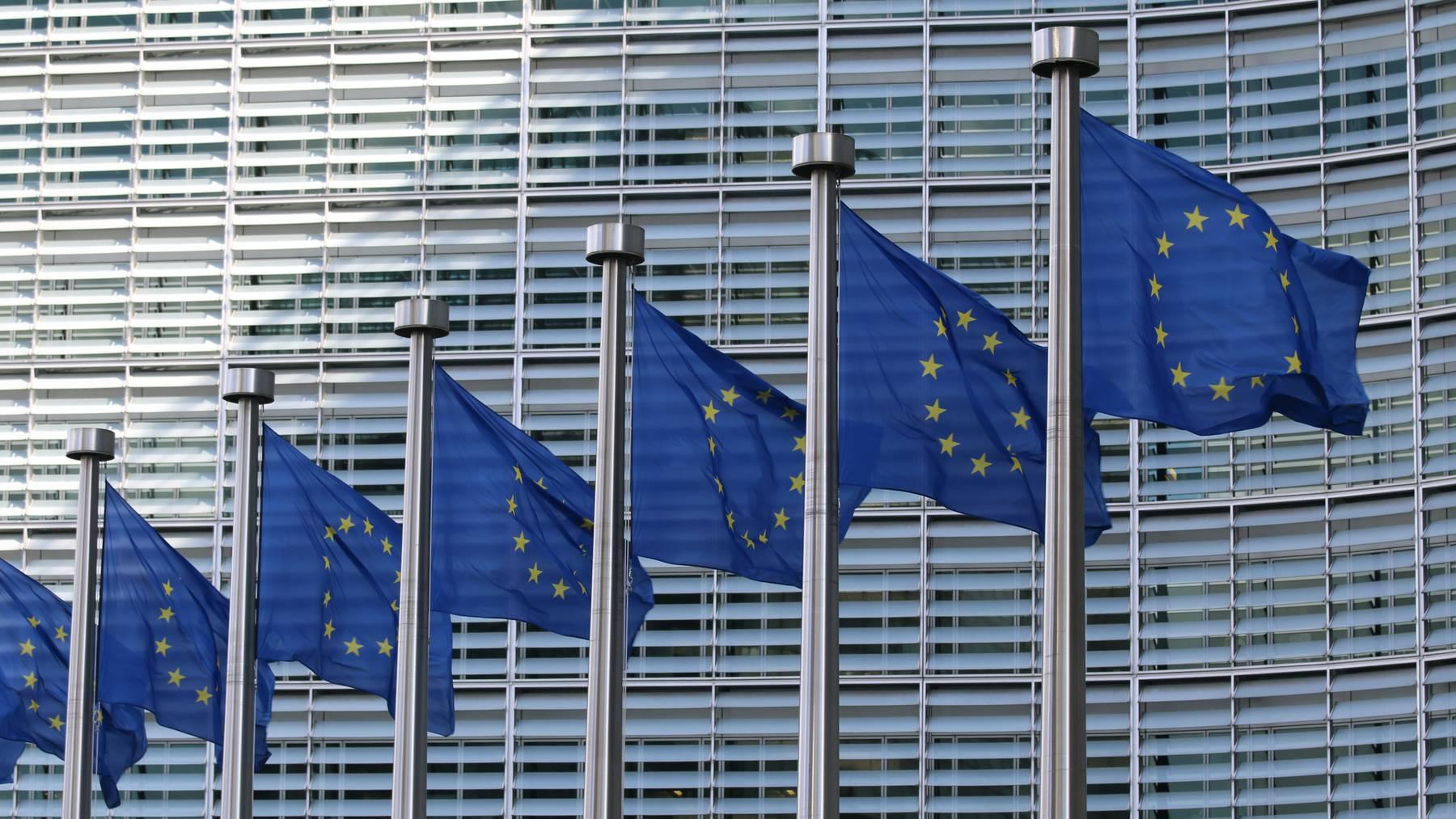EU-Flaggen Unsplash