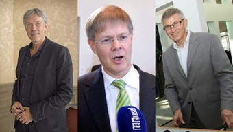 v.l.n.r.: Kulturmanager Hector Herzig, Finanzexperte Gerhard Schafroth, Schnelldenker Hans Furer