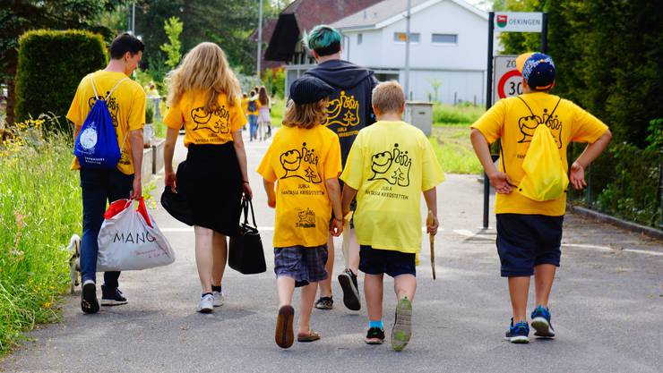 Das Projekt der Jubla Fantasia Kriegstetten heisst «Super suber». Unter diesem Titel wollen 35 Teilnehmende im Alter zwischen sechs und 20 Jahren Abfall auf dem Schulhausgelände, auf Spielplätzen und im Wald einsammeln.