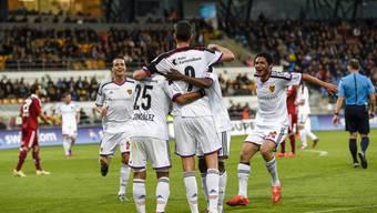 Der FC Basel trifft auf den FC Vaduz