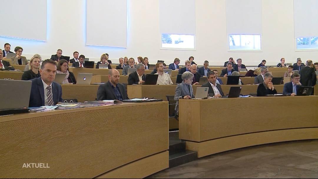 Aargauer Parlament winkt Budget 2020 durch