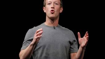 Halbherzige Hilfsbereitschaft: Facebook-Gründer Mark Zuckerberg hat sich mit seiner virtuellen Reise nach Puerto Rico keine Freunde gemacht. (Archivbild)