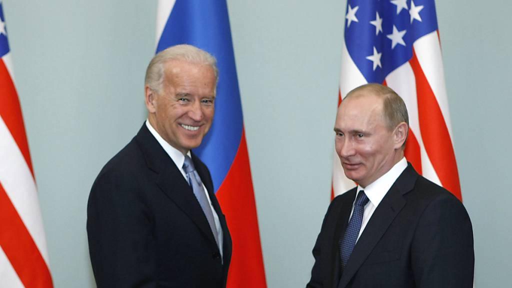 Biden und Putin treffen sich im Juni in Genf