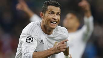 Cristiano Ronaldo liess Real Madrid dreimal jubeln und brachte die Hoffnung zurück in jenem schwierigen Duell mit Wolfsburg.