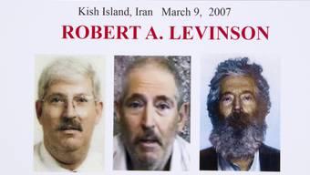 Auf diesem FBI-Plakat wird Levinson als Entführungsopfer bezeichnet