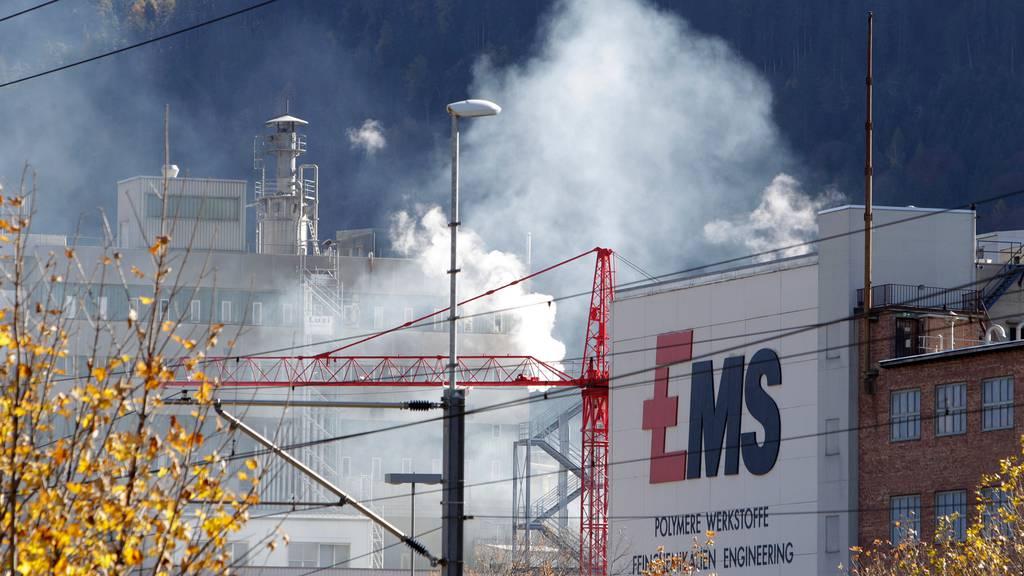 Umsatz der EMS-Gruppe sinkt um fast einen Fünftel