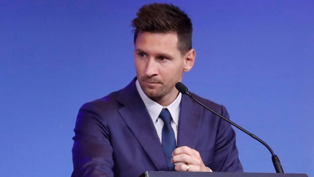 Lionel Messi in Frankreich wie ein König empfangen