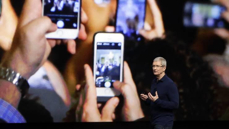 Das neue iPhone 7 wird vorgestellt