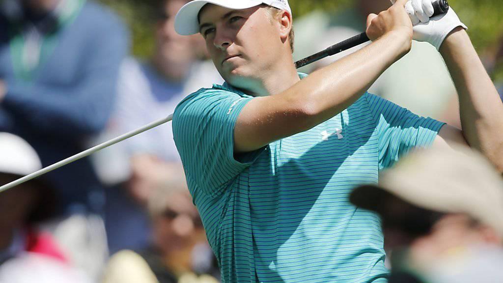 Jordan Spieth spielte zum Auftakt des US Masters bestechend sicher