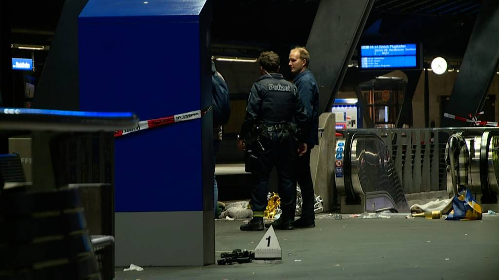 Messerstecherei am Bahnhof Stadelhofen