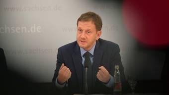 «Verständnis für Wutbürger»: Sachsens Ministerpräsident Michael Kretschmer. Matthias Rietschel/Reuters