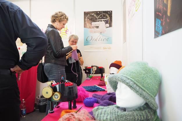 Beim Fadenspiel steht die kreative, textile Welt im Mittelpunkt