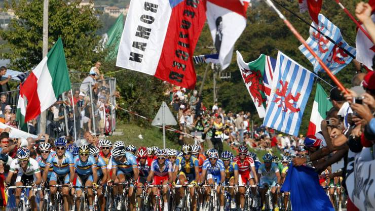 2009 waren in Mendrisio letztmals Strassen-Weltmeisterschaften in der Schweiz ausgetragen worden