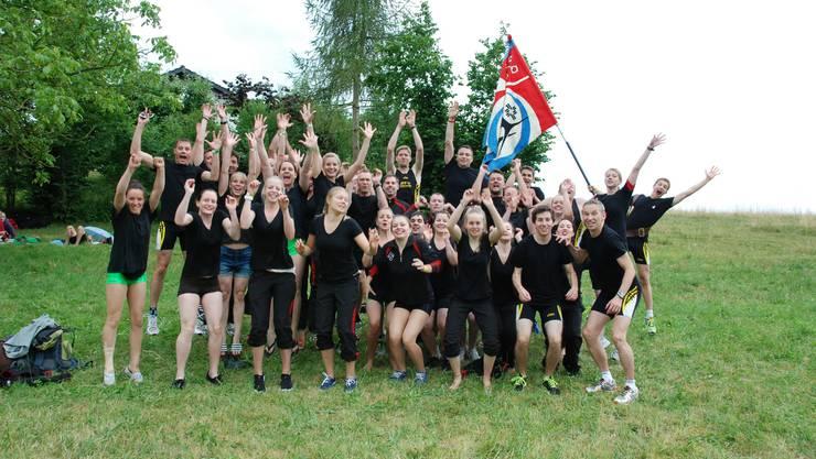 Rang 2 am Kreisturnfest Kaiserstuhl war der sportliche Höhepunkt 2014.