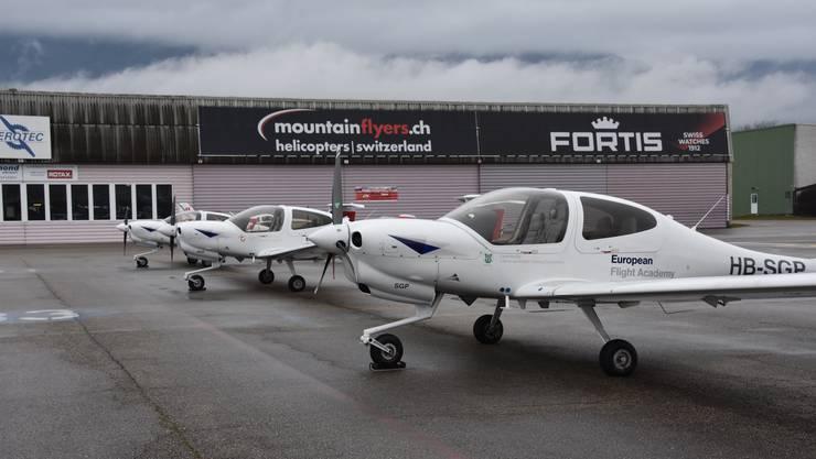 Flugzeuge der European Flight Academy bleiben am Boden.