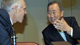 Klimakonferenz: Leuenberger und Moon