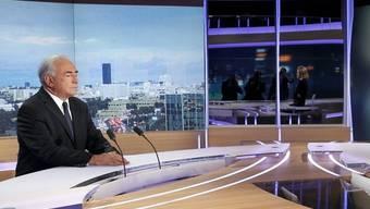 Strauss-Kahn spricht am französischen Sender TF1 erstmals öffentlich über den Zimmermädchen-Skandal
