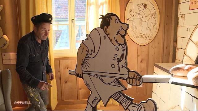 """Künstler richtet Restaurant nach """"Max und Moritz"""" ein"""