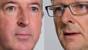 Peter Voser und Thomas Leitch im Streitgespräch