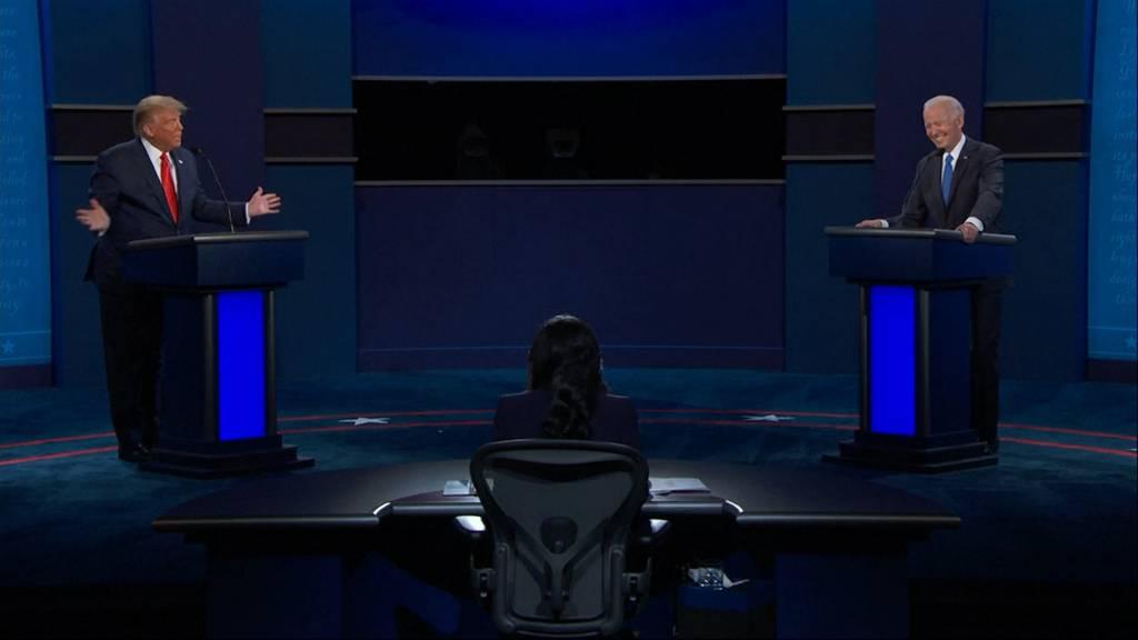 Hitler-Vergleich, Corona-Pandemie und Rassismus-Debatte: Das war das letzte TV-Duell zwischen Trump und Biden