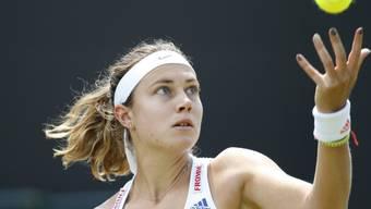 Stefanie Vögele erreichte nach Linz auch in Luxemburg die 2. Runde.