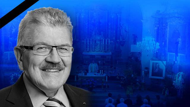 Trauerfeier  Alt-Regierungsrat Roland Brogli