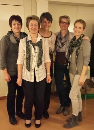 Theres Kretz, Marlies Maurer, Christina Maurer, Vreni Knüsel, Cornelia Kobel