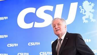 Bereits im Wahlkampfmodus: Heimatminister Horst Seehofer (CSU).
