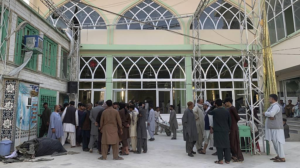Mindestens 32 Tote bei Anschlag auf Moschee in Afghanistan