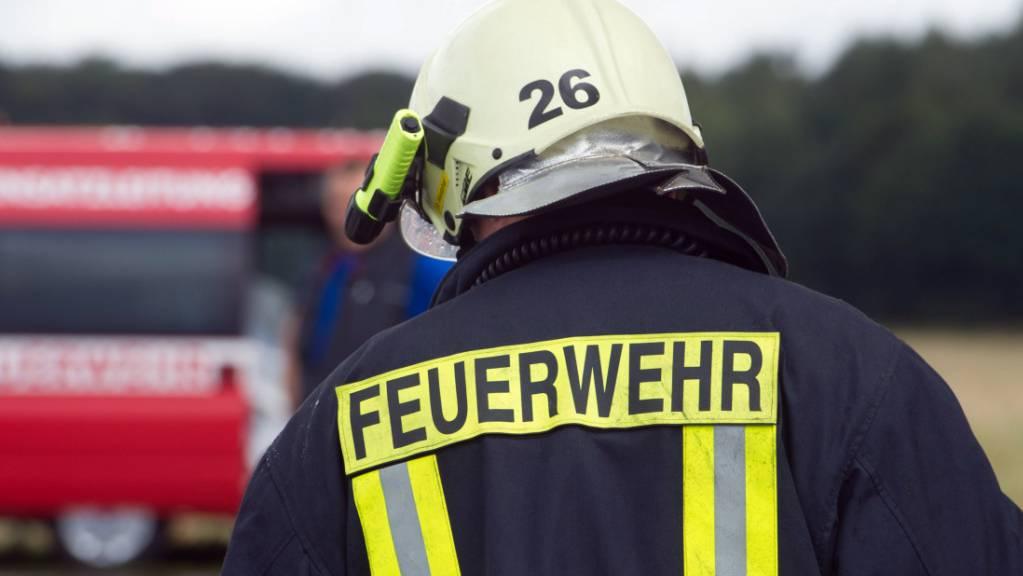 Die Feuerwehren im Kanton Glarus hatten im letzten Jahr ausserordentlich viel zu tun. (Symbolbild)